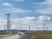 Wide angle view of windfarm - CUF25549