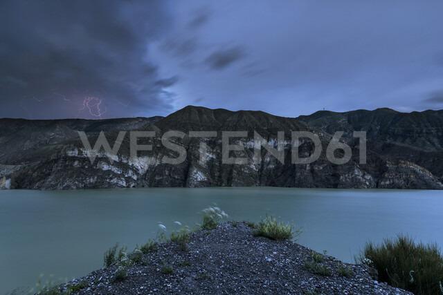 Europe, Turkey, Erzurum, Uzundere, Tortum Dam, lightning - FPF00168