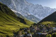 Europe, Georgia, Svaneti, Samegrelo-Zemo Svaneti, Ushguli, village - FPF00171