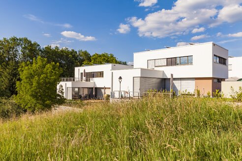 Germany, Esslingen-Zell, development area with passive house - WDF04677