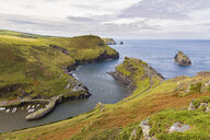 United Kingdom, Cornwall, view of Warren Point near Boscastle - WPEF00421