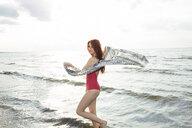 Young woman in bikini on beach - CUF29157