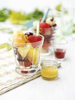 Mixed fruit in glass - CUF30291