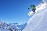 Skier, Chamonix, France - CUF31229