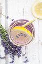 Homemade lavender lemonade with lemon - LVF07090