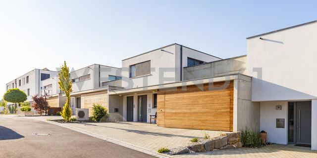 Germany, Blaustein, energy saving one-family houses - WDF04688