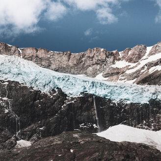 Italy, Lombardy, Lanzada, Fellaria glacier - DWIF00922
