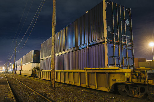 Containers at Puget Sound, Seattle, USA - ISF10495