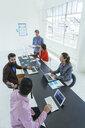Business people in brainstorming meeting - ISF11609