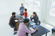 Business people in brainstorming meeting - ISF12041