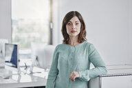 Portrait of confident businesswoman in office - RORF01353