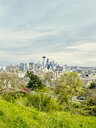 View of skyline from Kerry Park, Seattle, Washington State, USA - ISF13012