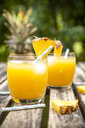 Two glasses of Pineapple Champage Cocktail - SARF03783