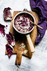 Risotto with radicchio, red wine and pancetta - SBDF03604