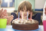 Children enjoying birthday party - CUF33931