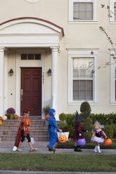 Children going trick or treating - ISF14340