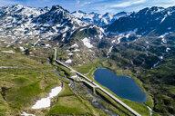 Switzerland, Canton of Uri, Tremola, Gotthard Pass - STSF01647