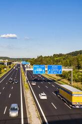 Germany, Baden-Wuerttemberg,  Leonberg, motorway A 8 - WDF04699
