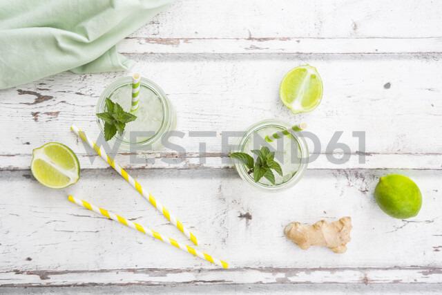 Lime mint ginger lemonade - LVF07170
