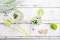 Lime mint ginger lemonade - LVF07170