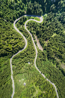 Switzerland, Canton of Uri, Aerial view of Susten Pass - STSF01686