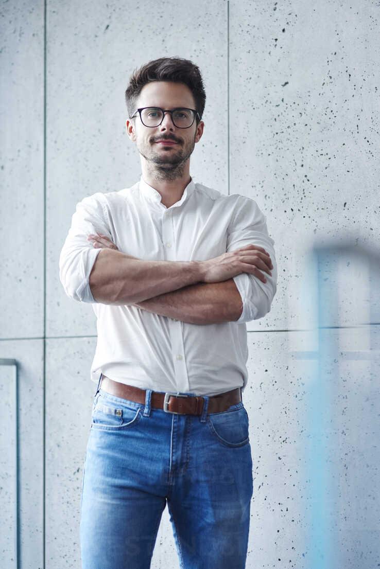 Portrait of confident businessman - ABIF00664 - gpointstudio/Westend61