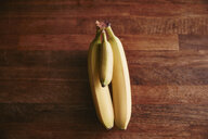 Bunch of two large and one small bananas - RHF02030