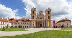 Austria, Lower Austria, Mostviertel, Wachau, Goettweig monastery - WWF04244