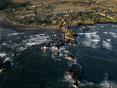 Indonesia, Bali, Indian Ocean, Aerial view of coast - KNTF01125