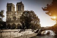 View of Notre Dame, Paris, France - CUF38443