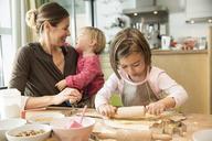Girl baking in kitchen - CUF39909