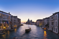 Boat on Venice canal - CUF40168