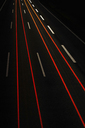 Long exposure view of traffic at night - CUF40222