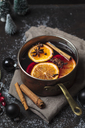 Pot of mulled wine - SBDF03638