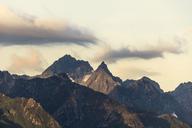 Switzerland, Ticino, Airolo, morning mood at Gotthard Pass - DWIF00931