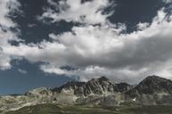 Switzerland, Grisons, Tiefencastel, mountainscape at Albula Pass - DWIF00934