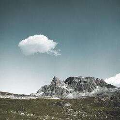 Switzerland, Grisons, Samedan, approach to Julier Pass - DWIF00943