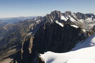 Mountain scene, Chamonix, Haute Savoie, France - CUF42366