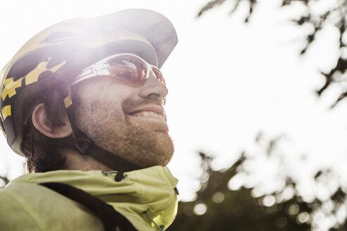 Profile of cyclist - CUF42659