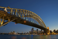 Sydney Harbor Bridge and waterfront, Sydney, Australia - CUF43267