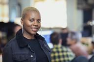 Portrait smiling, confident businesswoman - CAIF21095