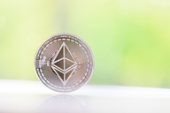 Ethereum, blurred background - MMA00414
