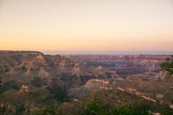 USA, Arizona, Grand Canyon National Park, Grand Canyon at sunset - GEMF02165