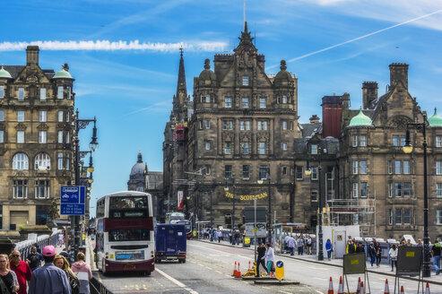 UK, Scotland, Edinburgh, city view - THA02186