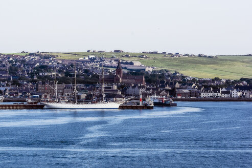 Great Britain, Scotland, Orkney, Kirkwall, Harbour - THAF02193