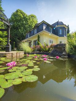 Germany, art nouveau villa, 1929, lily pond - LAF02062