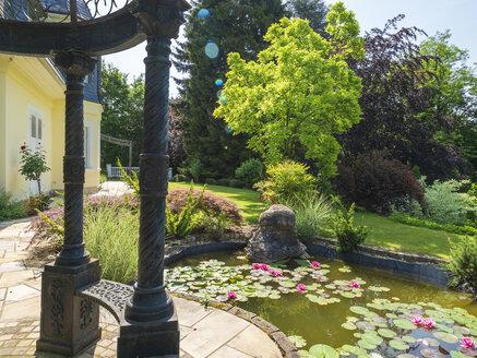 Germany, art nouveau villa, 1929, lily pond - LAF02065