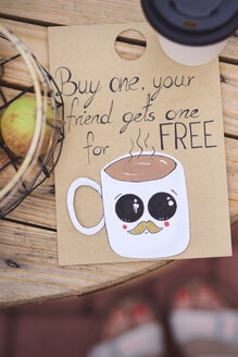 Street cafe, Coffee for free - ABIF00730