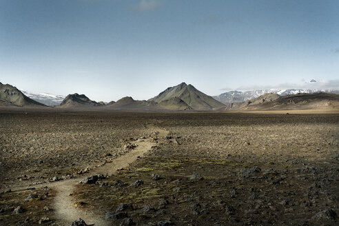 Iceland, Emstur, South West, Laugavegur trail from Landmannalaugar to Porsmoerk - DMOF00063