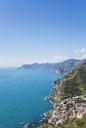 Italy, Liguria, Cinque Terre, Riomaggiore, Riviera di Levante, Mediteranean Sea - GWF05603
